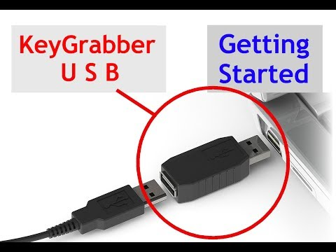 Hardware Keylogger - KeyGrabber USB