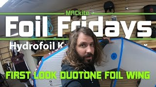 Wing Surfer: A First look at the Duotone Foil Wing  - Foil Fridays