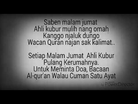 Syi'ir Jawa (bisa bikin menangis) ~ Saben Malem Jum'at