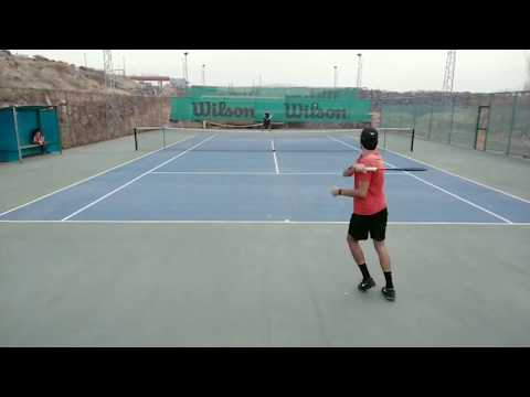 Part From A Tennis Practice