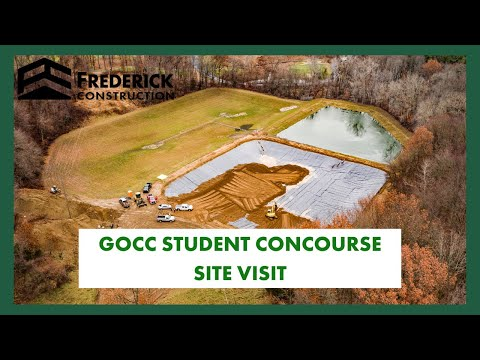 Glen Oaks Community College Student Concourse Site Visit