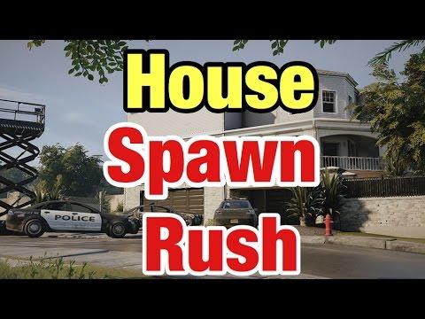 House Spawn Rush - Rainbow Six Siege