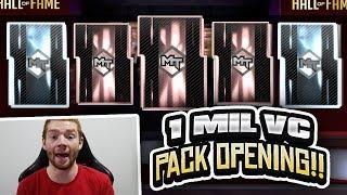 1 MILLION VC HALL OF FAMERS PACK OPENING!! 3 PINK DIAMOND PULLS! (NBA 2K19 MYTEAM)