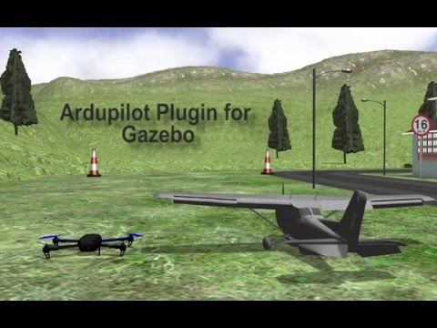 ArduPilot Plugin for Gazebo by Maxx Uav on YouTube