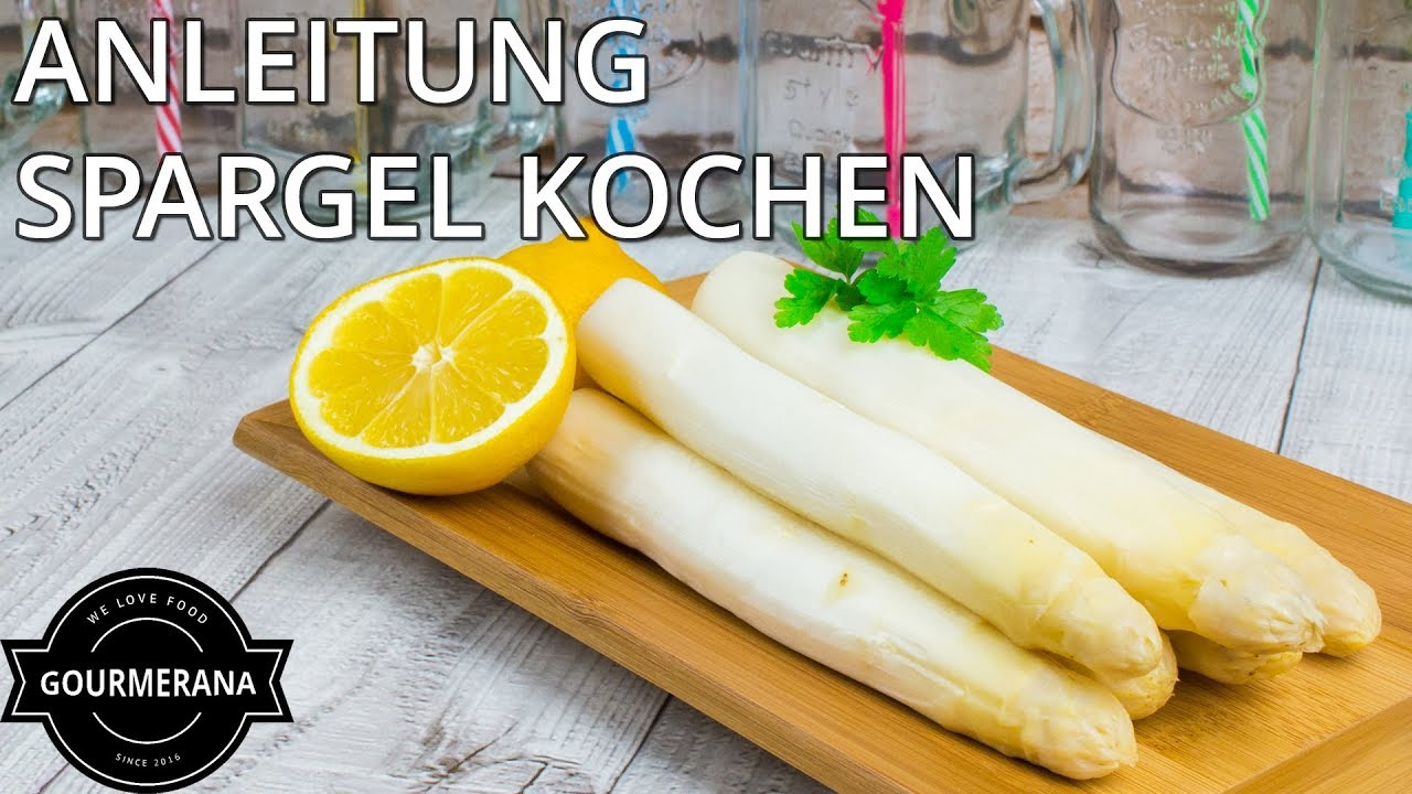 anleitung spargel richtig kochen gourmerana basics stop motion animation youtube. Black Bedroom Furniture Sets. Home Design Ideas