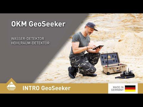 GeoSeeker – Geoelektrischer Wasser- und Hohlraum-Detektor mit 3D-Grafik
