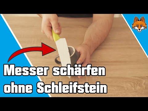 Top Messer schärfen ohne Schleifstein - einfacher Trick 🔪 - YouTube VT91