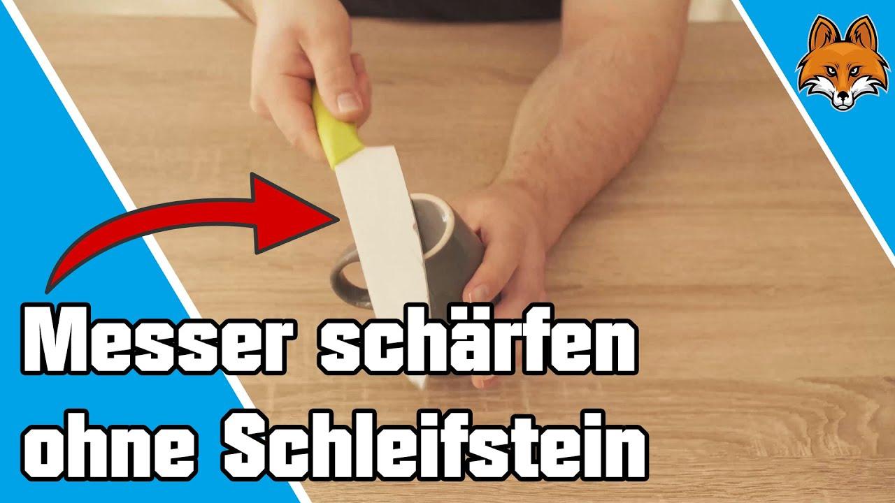 Top Messer schärfen ohne Schleifstein - einfacher Trick 🔪 - YouTube LO03
