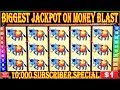 BIGGEST JACKPOT ON YOUTUBE ON MONEY BLAST HIGH LIMIT SLOTS