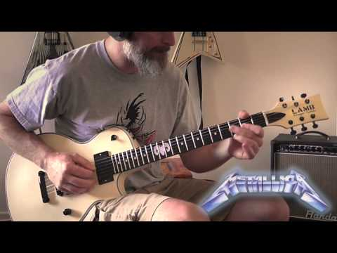 Metallica - Fade to Black Guitar Cover (No Backing Track)