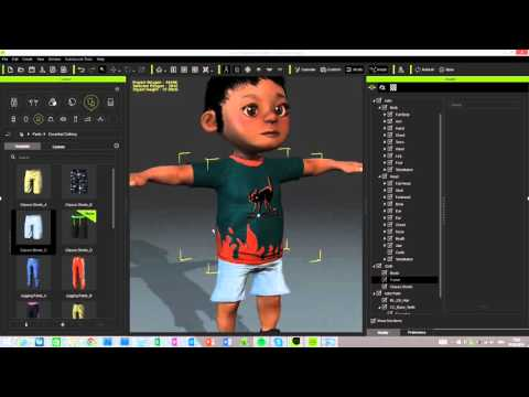 iClone Character Creator QUICKTIP - Working with the Stylized Kids & Teens Morphs