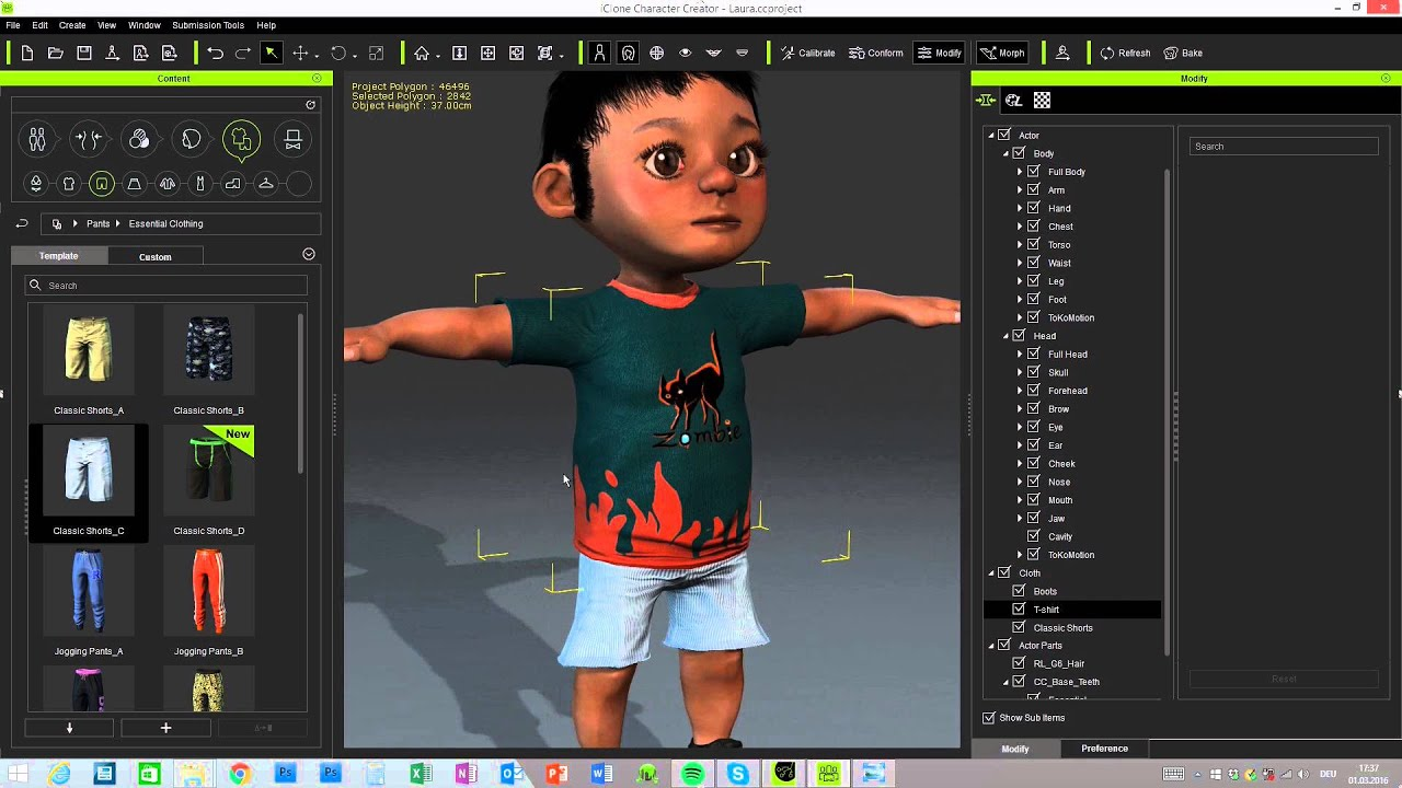 2d Character Design Software Free Download : Iclone character creator quicktip working with the