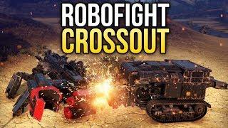 Crossout Robofight: КАШАЛОТ vs МЯСНИК