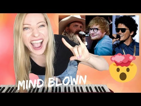 BLOW - Ed Sheeran, Bruno Mars & Chris Stapleton [Musician's] Reaction & Review!