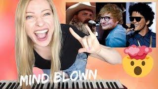 BLOW - Ed Sheeran, Bruno Mars & Chris Stapleton [Musician's] Reaction & Review! Video