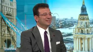 My Bloomberg TV interview with Guy Johnson on Istanbul's new investments