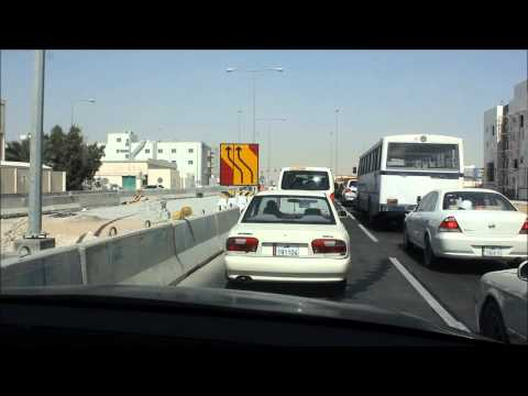 Driving in Doha, Qatar HD