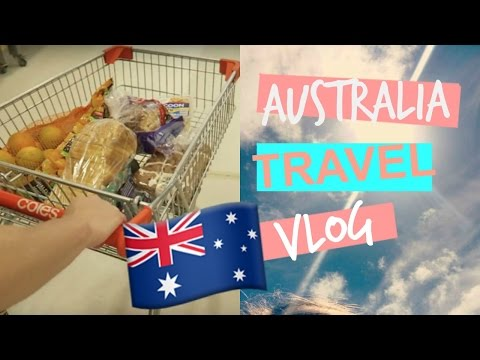 AUSTRALIA VLOG GROCERY SHOPPING IN COLES 2017