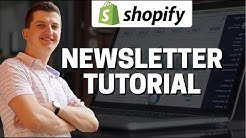 How To Add Newsletter To Shopify