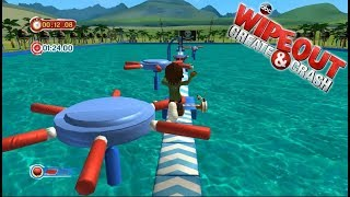 Wipeout Create and Crash / Nintendo Wii / Gameplay FHD