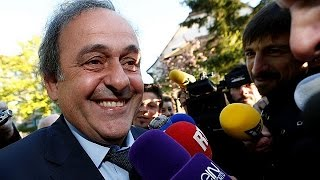 Will Michel Platini be in charge at Euro 2016?