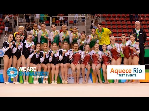 NEWS - 2016 Olympic Test Event, Rio (BRA) - Women's Artistic Team Competition