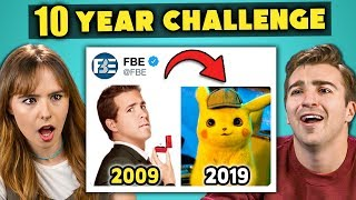 Download College Kids React To #10YearChallenge 2009 vs 2019 Mp3 and Videos