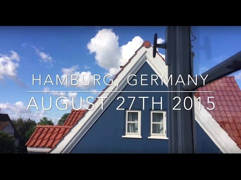 Interrailing Day 14 - Hamburg, Germany - COPENHAGEN!