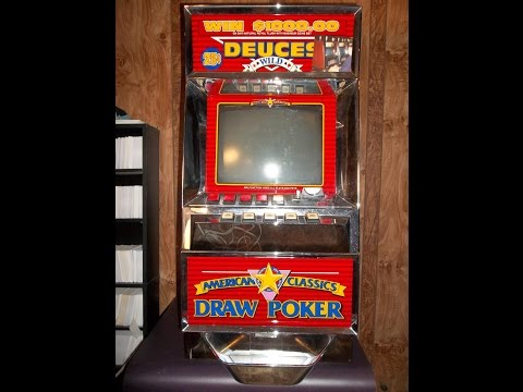 Deuces Wild Video Poker Slot Machine Antique From Vegas