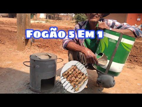 ENSINANDO FAZER FOGÃO