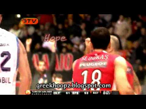 Olympiacos BC Heading To Sinan Erdem Arena Teaser