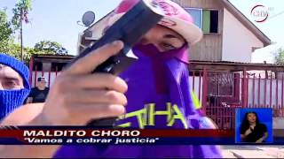 Banda de Cerro Navia mostró sus armas y juraron venganza por muerte de joven thumbnail