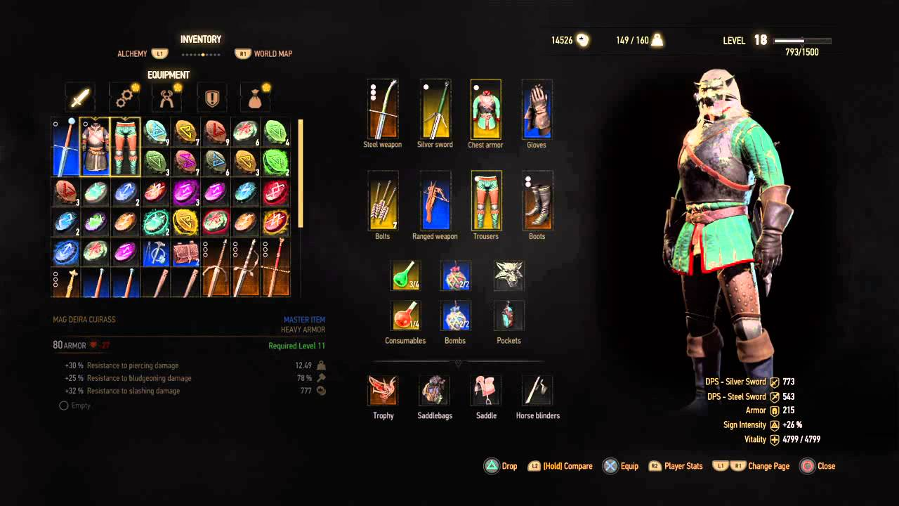 witcher 3 how to get armor repaired