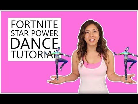 FORTNITE STAR POWER DANCE TUTORIAL