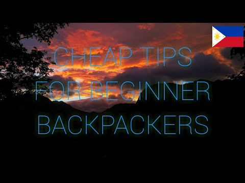 [VIDEO] - 5 CHEAP TIPS for BEGINNER BACKPACKERS in the PHILIPPINES 1
