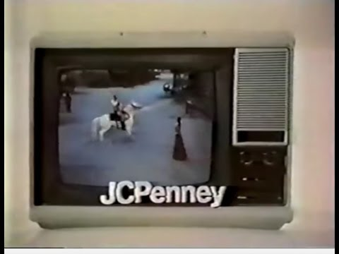 Jcpenney portable tv commercial 1972 youtube - Mobile tv industrial ...