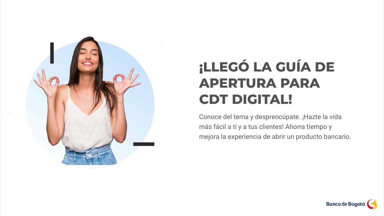Apertura CDT digital F