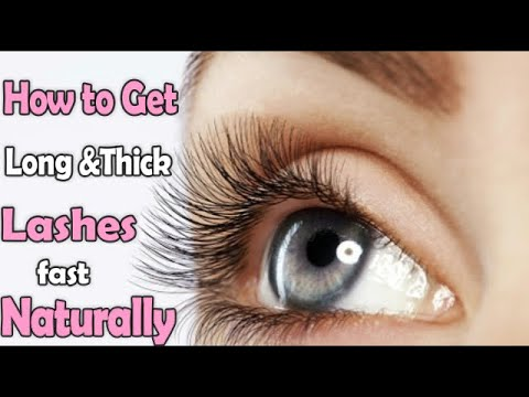 How to Grow Long, Thick & Healthy Lashes || The Secret of Long Lashes
