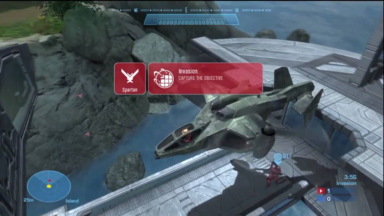Squall: Halo Reach Invasion Map Gameplay (Offense) | FpvRacer lt