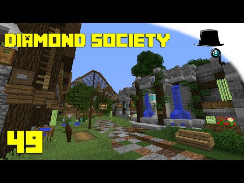 Minecraft Diamond Society 49, Theme Park Showcase
