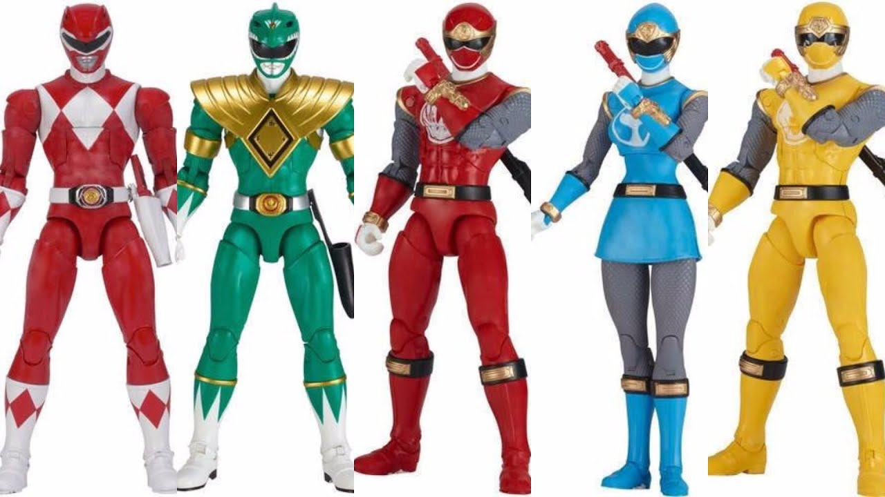 Power Rangers Legacy Figures Revealed! Itu0027s Morphin Time! Ninja Storm Ranger Form! - YouTube  sc 1 st  YouTube & Power Rangers Legacy Figures Revealed! Itu0027s Morphin Time! Ninja ...