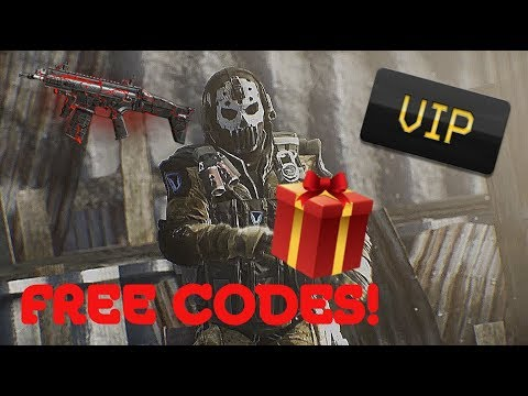 WARFACE: FREE CODES for everyone?! [NEW GIVEAWAYS]