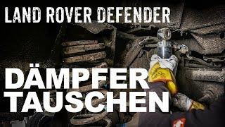 Stossdämpfer in einen Land Rover Defender einbauen  I 4x4 Passion #111