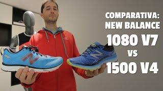 NEW BALANCE 1080 V7 vs 1500 V4, reseña comparativa (en español)