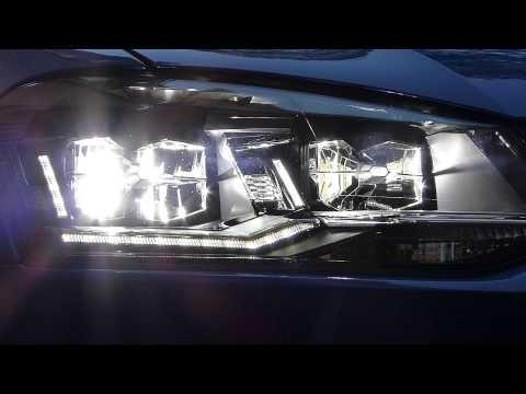 Fari full LED Polo 6C con freccia in full HD - YouTube