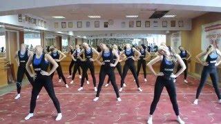 Часть 1.Открытый урок 2016 г.Народный ансамбль современного танца