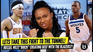 Booker and Dieng Take The Fight To The Tunnel + Westbrook Wants All The SMOKE!!