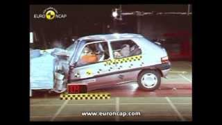 Краш-тест и видео краш-тест Citroen Saxo (Ситроен Саксо)