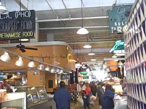 Historic Downtown Los Angeles - Grand Central Market