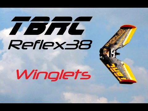 TBRC Reflex38 Build - Part 7/10 Winglets